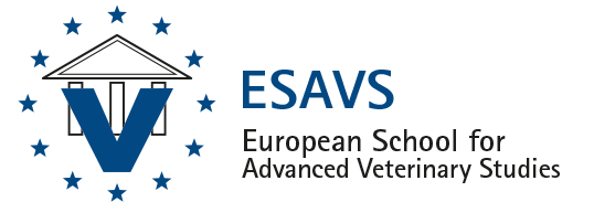 European School for Advanced Veterinary Studies Logo